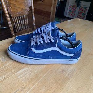 men's vans old skool estate blue